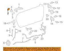 GM OEM Exterior Rear Door Lock-Cover Cap 92233091