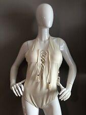 New Swim Systems Underwire Ivory Coast Women's One Piece Bikini Size XL