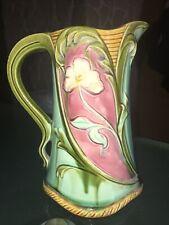 Pichet En Barbotine Art Nouveau Numéroté 569