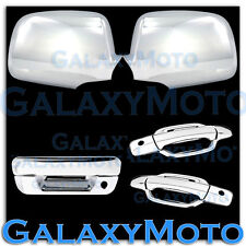 05-12 Chevy Colorado+Canyon Chrome Mirror+2 Door+PSG KH+Tailgate Handle Cover