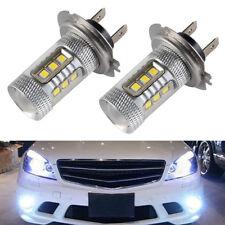 2pcs H7 499 Bulb 2835 LED HeadLight Foglight Daytime High Power White