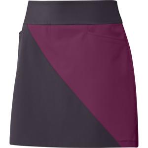 New Adidas Color Block Noble Purple/Power Berry Skort Women's Medium - FT7837