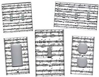 SHEET MUSIC HOME DECOR LIGHT SWITCH PLATES AND OUTLETS