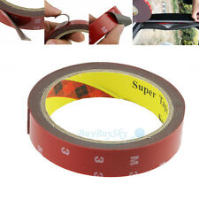 New 3m x 20mm Auto Truck Car Acrylic Foam Double Sided Attachment Tape Adhesive