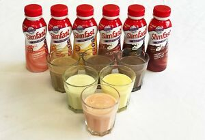 SlimFast Weight Loss Diet Ready to Drink Shake All Flavours Sport Protein