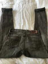 Mens RRL RED LINE Selvedge Denim Jeans -Distressed- Grunge 30