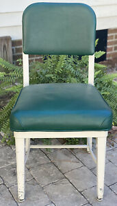 Steelcase Tanker Chair Vintage Industrial Office ChairGreen Free shipping