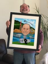 Caricature gifts for DAD - Special gifts on Father's Day
