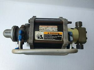 SPRAGUE S86 JN60 GAS BOOSTER PUMP 60:1 RATIO, 6000 PSI