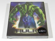 The Incredible Hulk Blu-ray Steelbook [Korea] Novamedia Lenti Slip Ed #242/1800