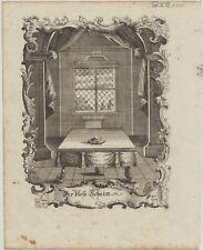 EDELSTEIN Juwelier SCHMUCK Original Kupferstich um 1720 Goldschmied Diamant