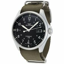 Glycine Men's 3890.191AT.TB2 Combat 6 Vintage Automatic 43mm GL0122 Wrist Watch