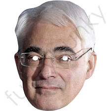 Alistair Darling Politician Celebrity Card Mask - All Our Masks Are Pre-Cut!