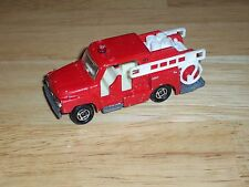 Vintage Tomica 1975 Red Isuzu Fire Engine Truck No. 68 Made In Japan