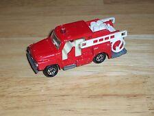 Vintage Tomica 1975 Red Isuzu Fire Engine Truck No. 68 Made In Japan