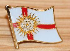 YORKSHIRE - WEST RIDING England County Flag Enamel Pin Badge UK Great Britain