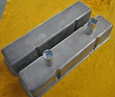 SBC Chevy  Aluminum  Valve Covers Circle Track Dirt