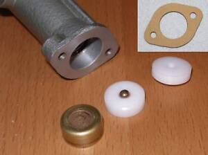 GARRARD 301 OIL/GREASE turntable - SPINDLE THRUSTPAD XTP301 PLUS GASKETS
