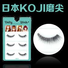SMB3 Japan Koji Natural Short Thick Winged False Eyelashes reusable eye lashes