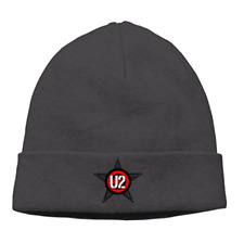 Men U2 Irish Rock Bono Experience Tour Slouchy Watch Hat Beanie Cap