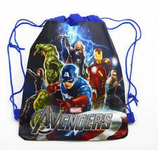 Marvel Avengers Hulk Iron Man  PE Gym Sport Swimming Dancing Draw String Bag