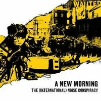 """THE (INTERNATIONAL) NOISE CONSPIRACY """" A NEW ..."""" CD"""