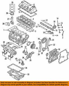 MINI OEM 02-06 Cooper-Engine Crankshaft Crank Main Bearing 11211487190 SET OF 5