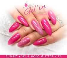 Vernis Semi Permanent NAILITY UV LED n°82 Sunset 7ml GEL POLISH USA
