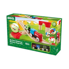 BRIO 33710 My First Railway Battery Operated Train Set 25pc New