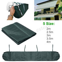 2m-4m Awning Weather Rain Cover Patio Awnings Sun Canopy Storage Bag Protector