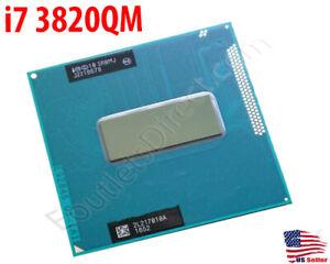 Intel Core i7 3820QM Quad-Core Mobile Laptop CPU Processor SR0MJ 8M 2.7-3.70GHz