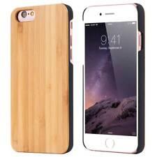 Apple Iphone 6 6s 7 8 cover case hard back real sandal wood wooden oak brown