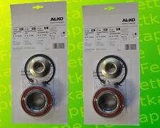 2 x ALKO Radlager 1224805 Lager 80/42x42 mm + Zubehör - Kompaktlager Ecolager