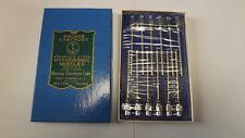 """12 VTG Anchor Hypodermic Needles Stainless Steel 13g x2"""" Blunt Point,Luer Slip"""
