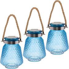 3 Pack GreenLighting Solar Powered Mason Jar Decorative LED Glass Light
