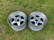 """OZ Futura 17x9"""" Front Wheels, Set of Two"""
