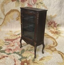 Bespaq Bluette Meloney Dollhouse Furniture China Cabinet Cupboard Shelf 2360