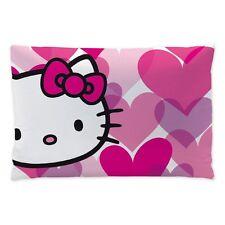 Kinderkissen Kuschelkissen Kissen Hello Kitty Mimi Herzen  42 x 25 cm neu