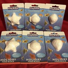 6x Vacation Holiday Fish Food Blocks For Upto 15 Tropical Coldwater Fish 14 Days