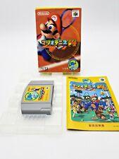 Nintendo 64 Mario Tennis 64 Japan Import
