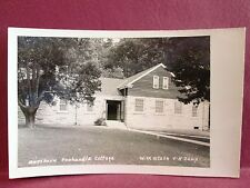 Postcard WV Weston Northern Panhandle Cottage WV State 4H Camp RPPC Real Photo