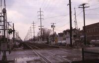 Unidentified Railroad Train Line Original 1967 Photo Slide
