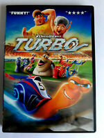 Turbo (DVD, 2013, Canadian) Racing Movie Film Kids Dream Works Animated fun FAST