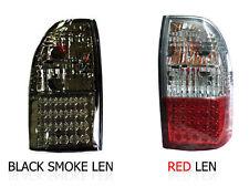 FOR MITSUBISHI TRITON STRADA L200 1996 - 2004 LED TAIL LIGHT REAR MK SMOKE RED