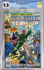 SUPER-VILLAIN TEAM-UP # 16 - CGC 9.8 - RED SKULL & HATE-MONGER appearances.
