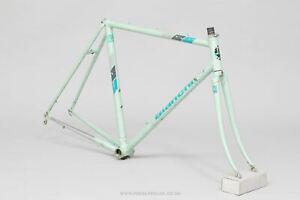 Bianchi Nuovo Alloro 53 cm Italian Columbus Formula Two Road Bike Frame - VTG