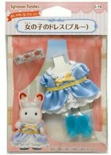 Sylvanian Families Kisekae girls dress blue D-16 Epoch 4905040243409