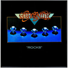 Millennium Art Aerosmith Rocks  Framed Vintage Album Cover Wall  Rock  FREESHIP