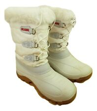 Womens Olang Winter White Snow Boots - Size 38-38 UK 4-5 Lace Up