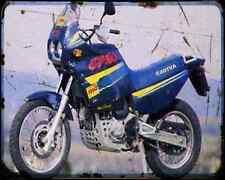 CAGIVA ELEFANT 750C 94 1 A4 Metal Sign moto antigua añejada De
